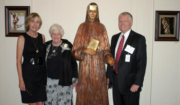 New sculpture honors Blessed Marie Rose