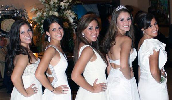 Academy ladies reign on Jesuit Homecoming Court