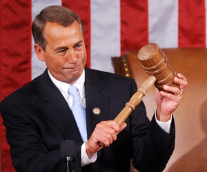 Boehner promises 'honest, accountable' House of Representatives
