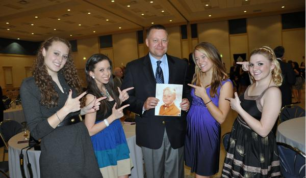 Academy girls honor fathers at annual dinner-dance