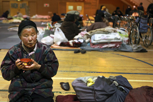 For seniors in Japan's tsunami zone, a full circle of hardship