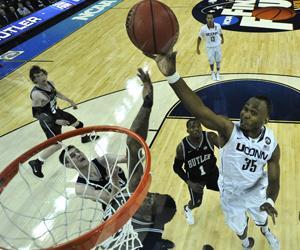 Calhoun wins third NCAA title in final with Butler