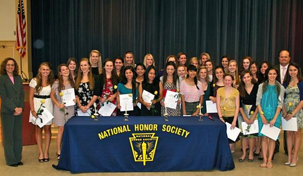 NHS inducts thirty-three Academy students