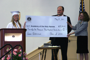 Seniors net top awards at Honors Convo
