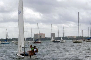 Sailing team launches this year's new sport at Academy