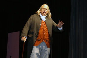 Benjamin Franklin brings a blast from the past