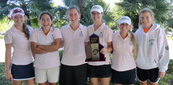 Academy golf team places eighth at States