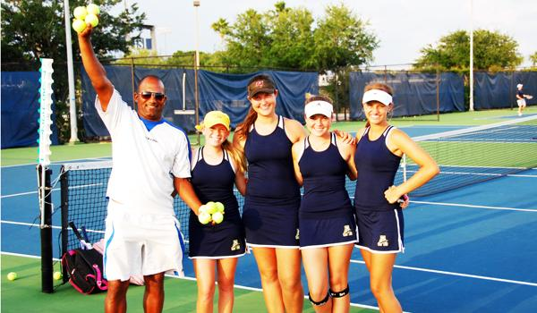 Academy tennis talent promises success for 2012 season