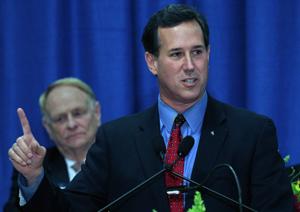 Rick Santorum: No money, no problem