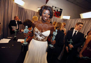 No help wanted for Viola Davis