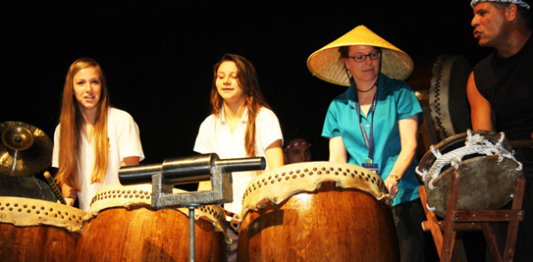 Taiko drums and guest speaker seminars kick off Mini Course Week 2012