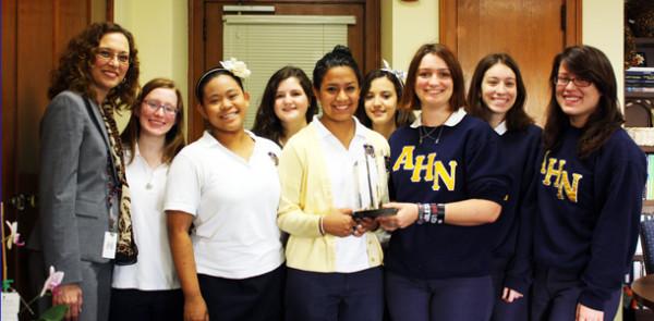 Jesuit AHN Robotics win Gracious Professionalism Award