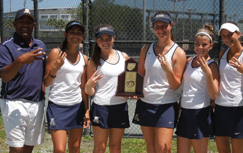 Tennis team wins it third straight 2A-Region 5 title