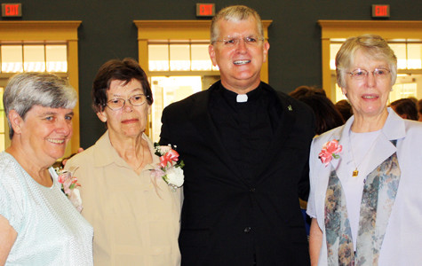 Easter Mass recognizes four significant Academy milestones