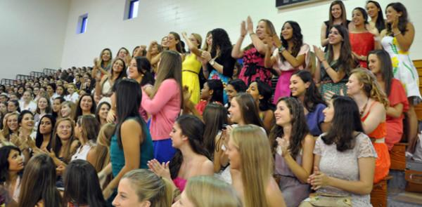 Seniors say farewell to all of their AHN sisters