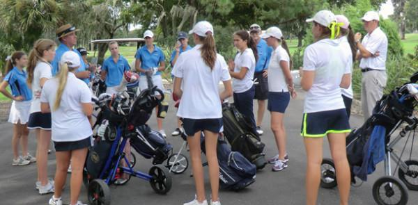 Golf team wins again - Tampa Prep falls to the Lady Jaguars 157-228