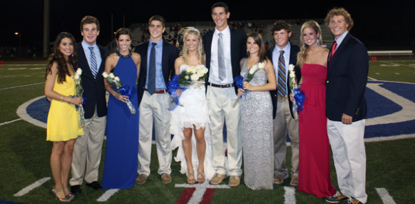 Queen+Ryann+McEnany+and+AHN+court+feted+at+Jesuit+Homecoming+game+and+dance