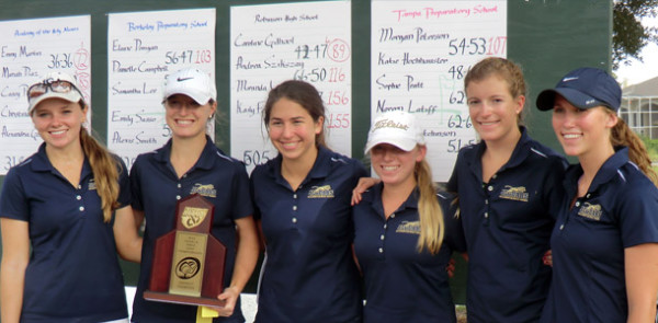 Golf team wins 1A-Region 3 title for second year in a row