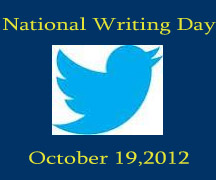 Celebrate National Writing Day by tweeting #WhatIWrite and retweeting to AchonaOnline or AchonaPoetweets