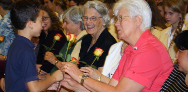 Academy+celebrates+Blessed+Marie+Rose+and+SND+Sisters+at+all-school+Mass