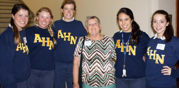 AHN hosts gathering honors Maureen Kearney