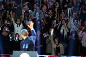 President Obama elected to second term - and social media responds