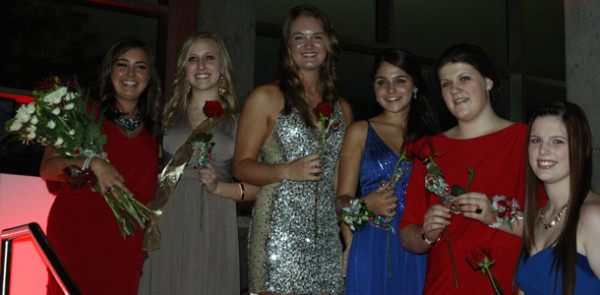 Holly Court and Senior Notables announced at Christmas Formal