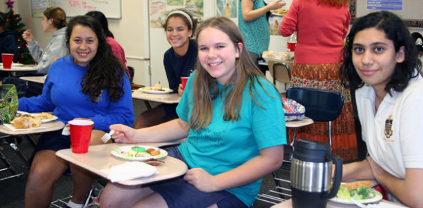 From Saturnalia to Bean Cake, AHN clubs celebrate last meeting of the year