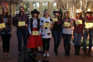 Wild West Wednesday 'Best Dressed' Awards included points for faculty competition
