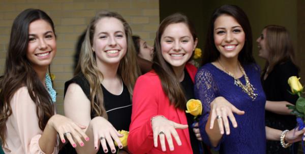 Junior+Ring+Ceremony+symbolizes+Academy+tradition+