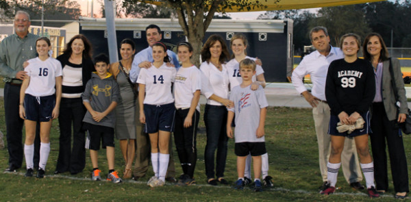 Soccer Senior Night brings 4-0 victory with three goals by senior Ashton Hill