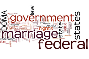 Should federal government be allowed to rescind state laws re: gay marriage?
