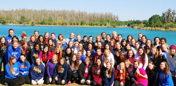 Senior Class of 2013 reflects on AHN experience at retreat