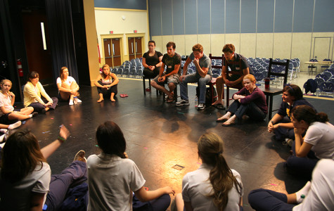 Cast of R&J meet with Bayshore players