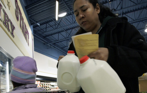 Americans currently struggle to ration the amount of money food stamps provide.