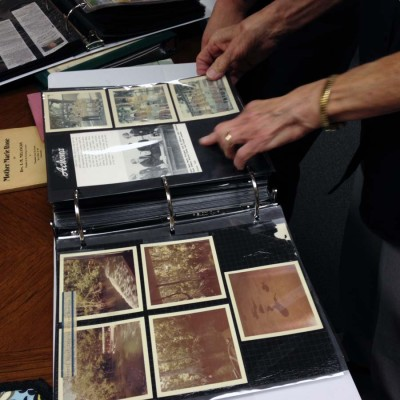 More photos from JFK's visit to Tampa in the Archive room.