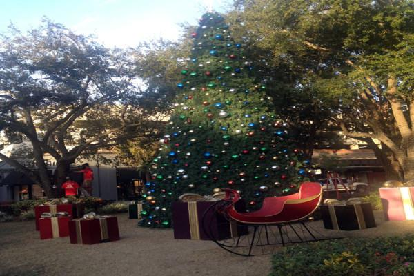 Hyde Park dresses up for the holiday season.