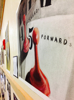 The AHN art students manage to complete many amazing projects within the short semester
