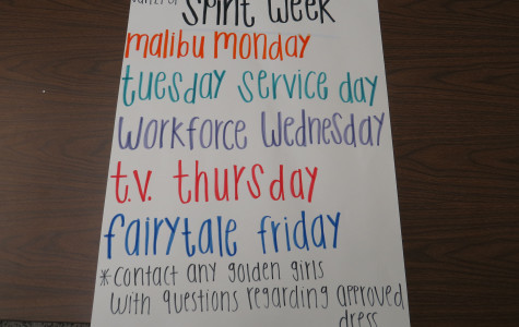 Golden Girls have finally announced Spirit Day Themes after months of preperation