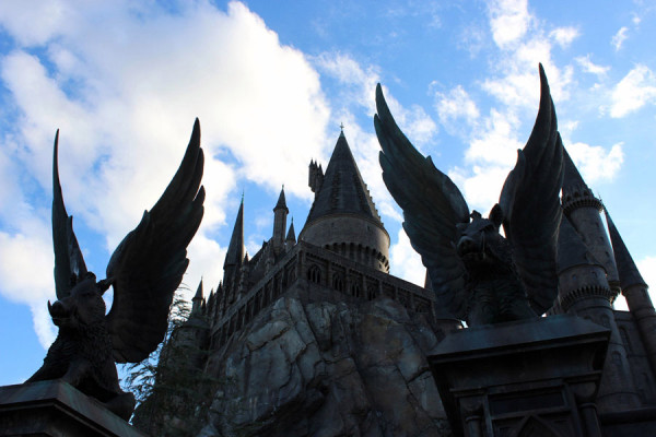 The Wizarding World of Harry Potter is coming more and more to life.