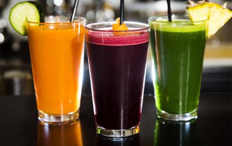 Delicious juices to help maintain a healthy diet and flush out unwanted toxins