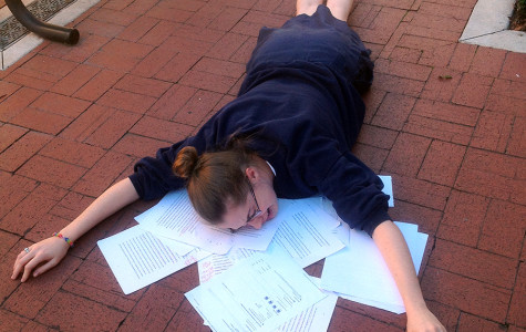 Senior papers were finally completed this week; underclassmen still have days to go.