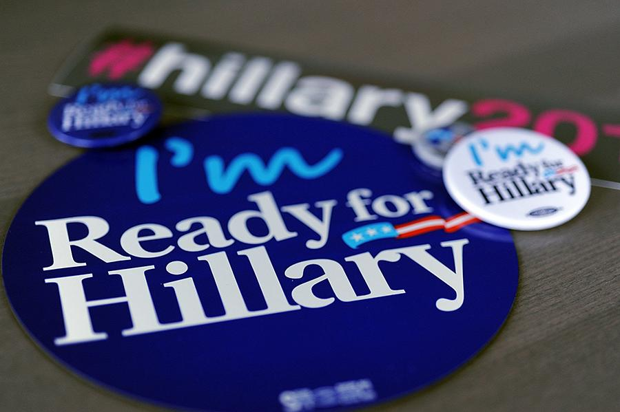 Hillary+Clinton+stickers+and+decals+have+already+been+seen+on+cars+in+the+Tampa+area.