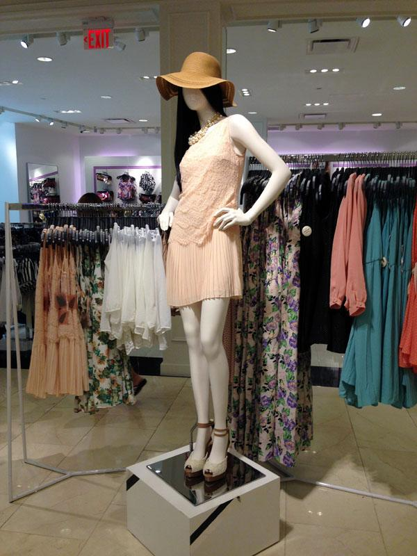 Forever21 has a large selection of the boho style