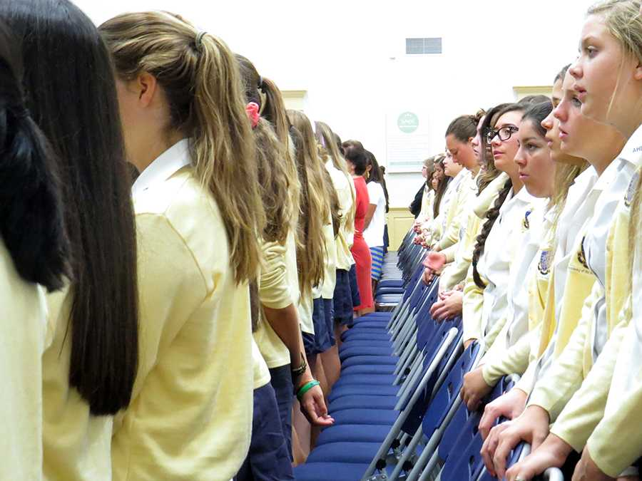 First Mass and Pep Rally of the 2014-15 school year [GALLERY]