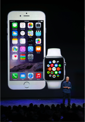 Apple CEO Tim Cook introduces the iPhone 6, iWatch, and iOS8
