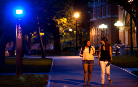 The campus blue-light-system is now required by law to be active on every college campus in America