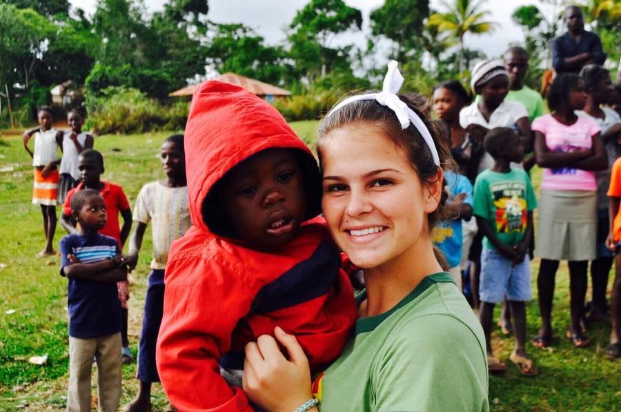 Julia Schifino in St. Suzanne, Haiti