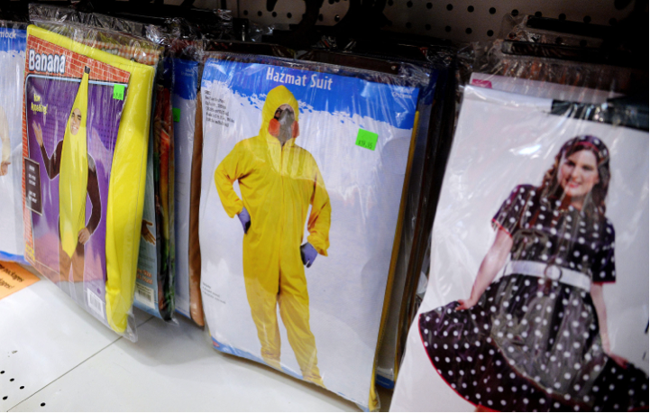 Dressing in an Hazmat suit to protect against Ebola? A definite don't.