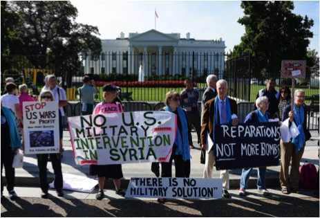 US Military intervention is still a highly polarizing topic.